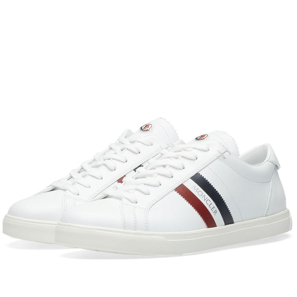 homeMoncler La Monaco Tricolour Stripe Leather Sneaker. image. image.  image. image. image. image. image. image 274a8c62a22