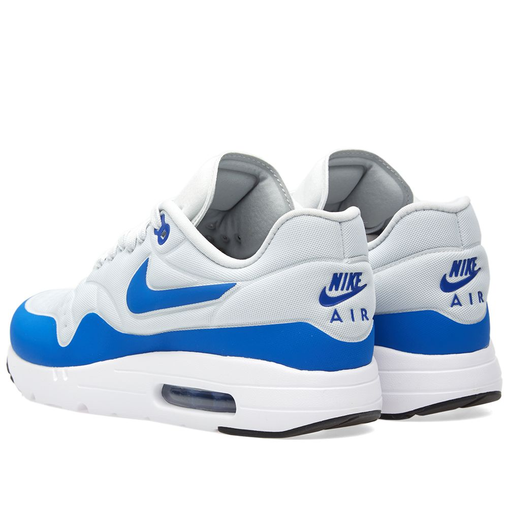Nike Air Max 1 Ultra SE. Pure Platinum   Game Royal. HK 1 fba56745f