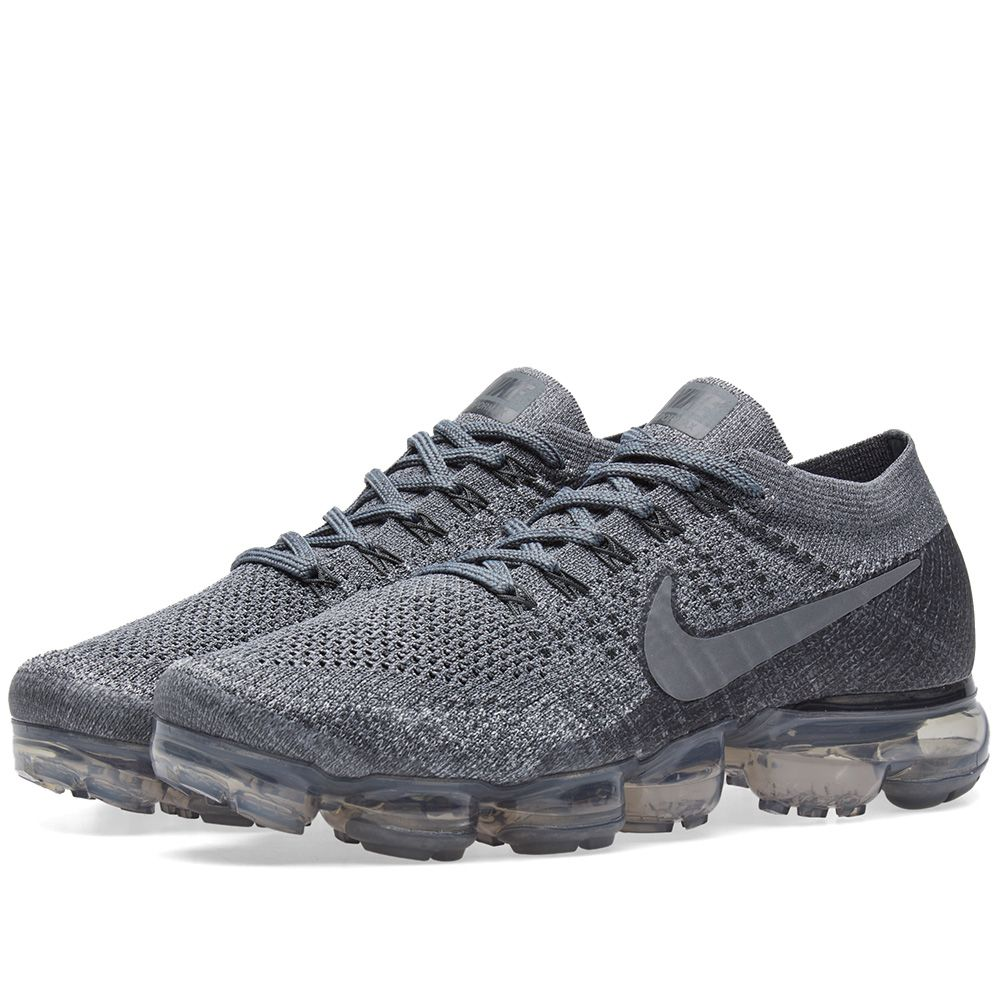 fac39a57527 NikeLab Air Vapormax Flyknit Cool Grey   Dark Grey