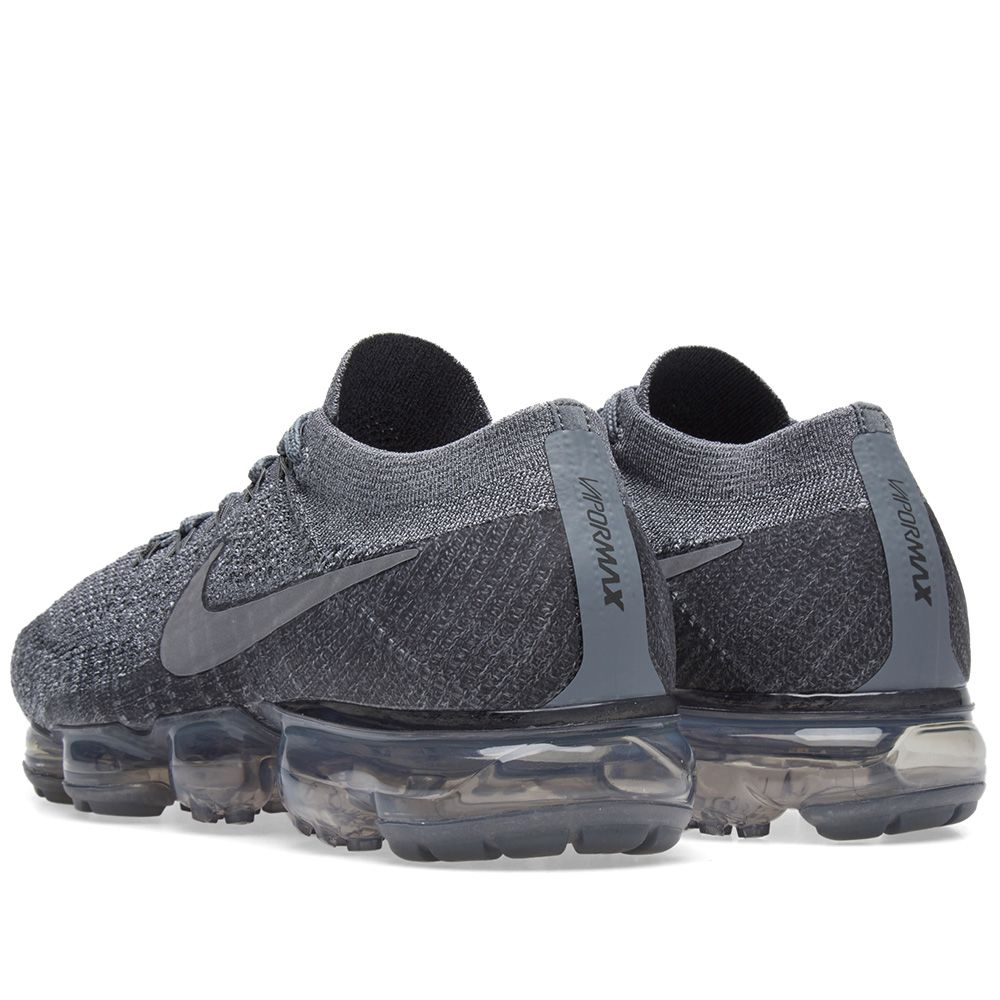 79c02906033e6 NikeLab Air Vapormax Flyknit Cool Grey   Dark Grey