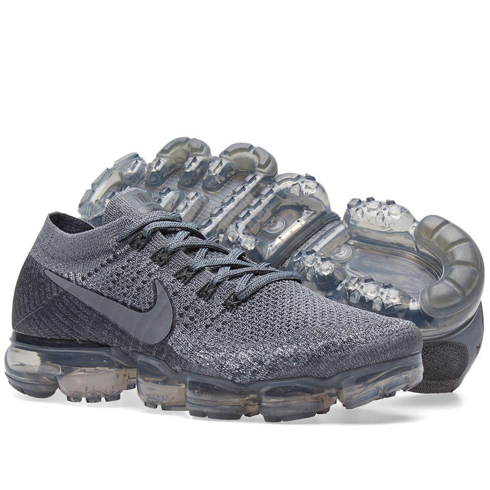 53209db4130 NikeLab Air Vapormax Flyknit Cool Grey   Dark Grey