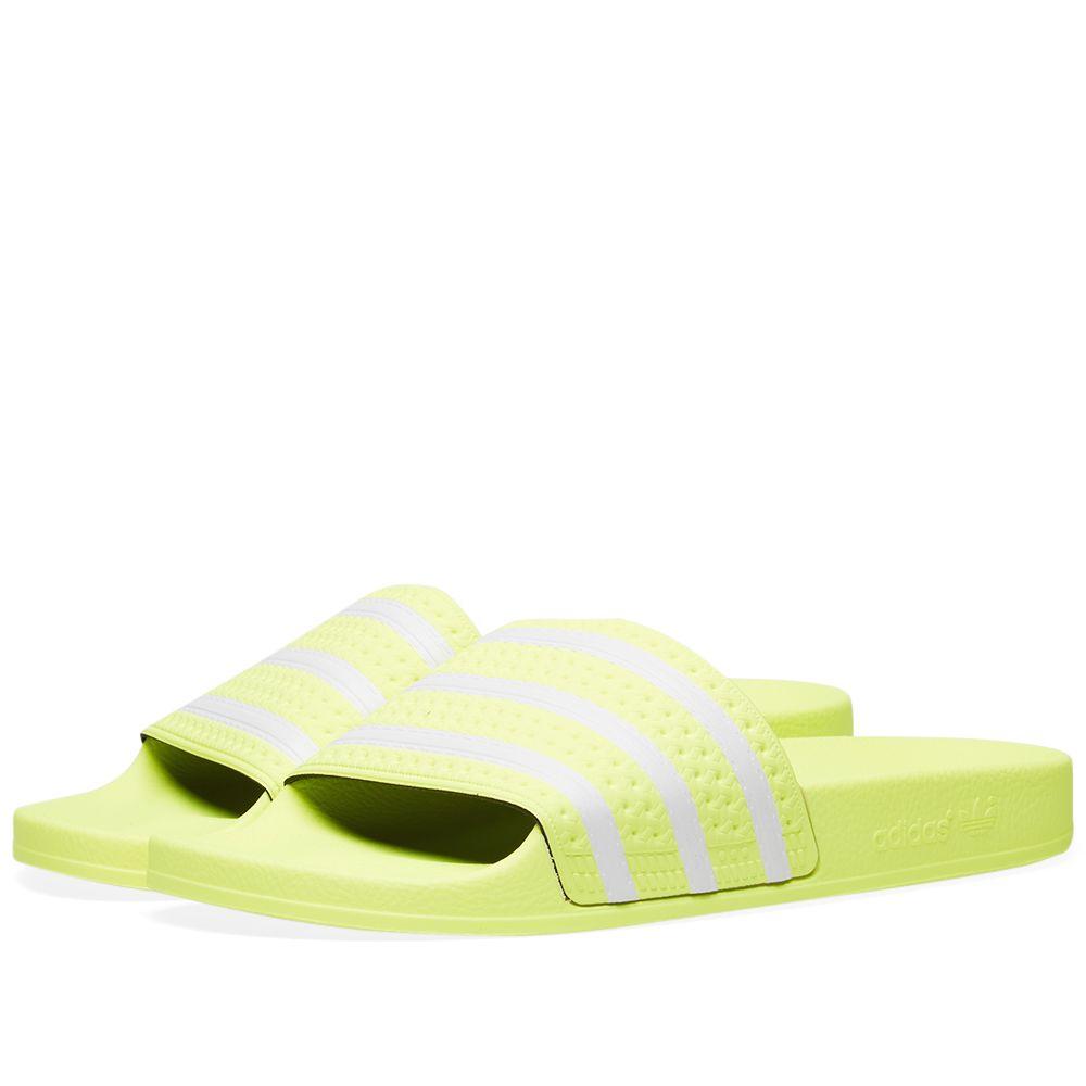 1983ed578981cb Adidas Adilette Semi Frozen Yellow