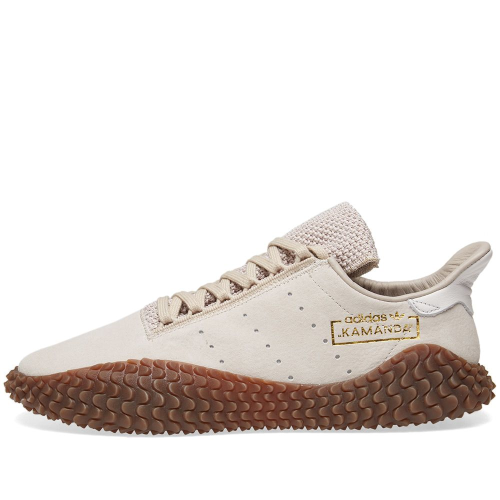 c7b5c51a4257 Adidas Kamanda 01 Clear Brown   Crystal White