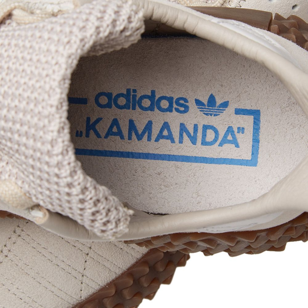 more photos 0b5b4 b6821 Adidas Kamanda 01. Clear Brown  Crystal White