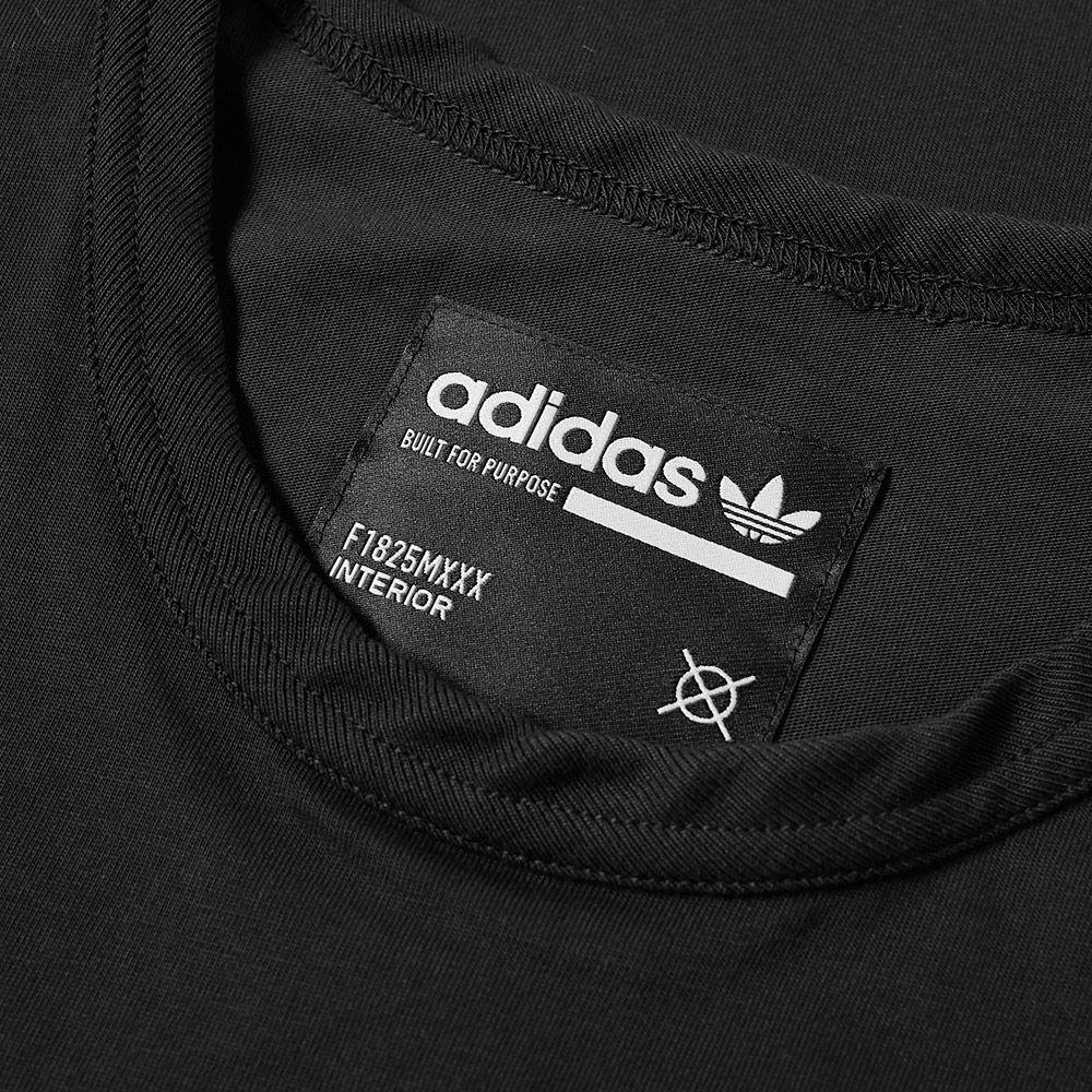 025ec7fed0a Adidas Kaval GRP Tee Black