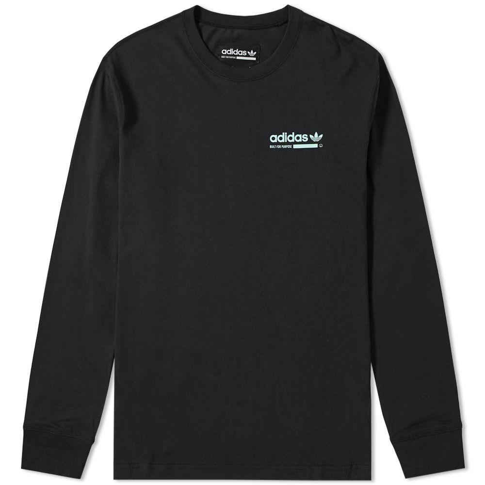 db491857f1e Adidas Long Sleeve Kaval GRP Tee Black