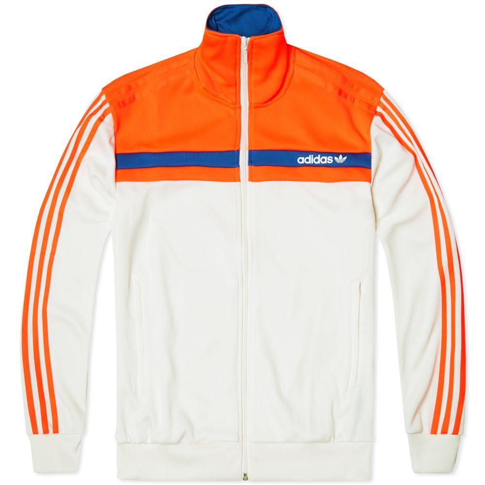 f8e2e176b598 Adidas Nite Jogger OG Track Top Chalk White