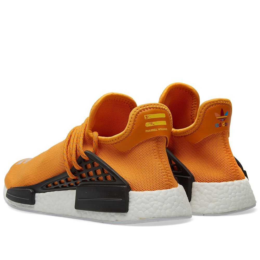 1cf6457f1950b Adidas x Pharrell Williams Hu Human Race NMD Tangerine   Core Black ...
