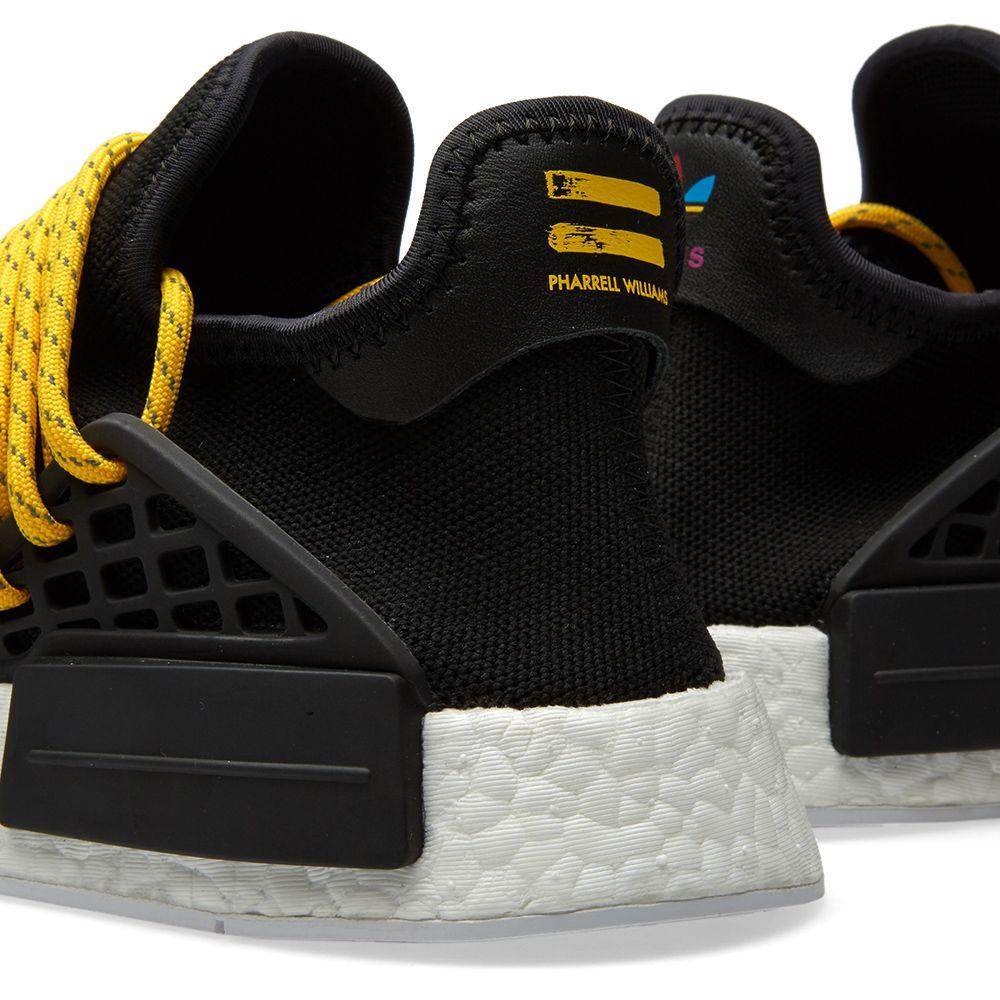 76d1b0b4def35 Adidas x Pharrell Williams Hu Human Race NMD Core Black