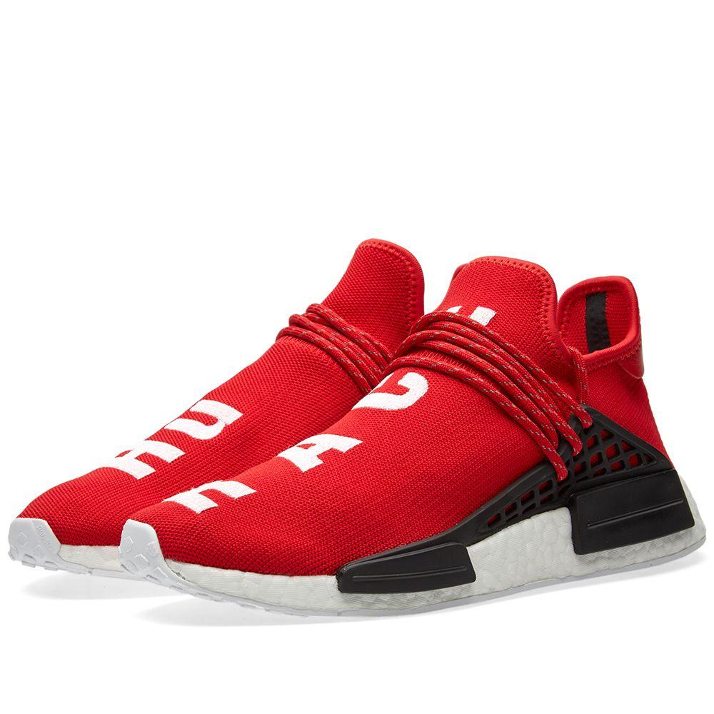 9f5057f9ec1b Adidas x Pharrell Williams Hu Human Race NMD Scarlet   White