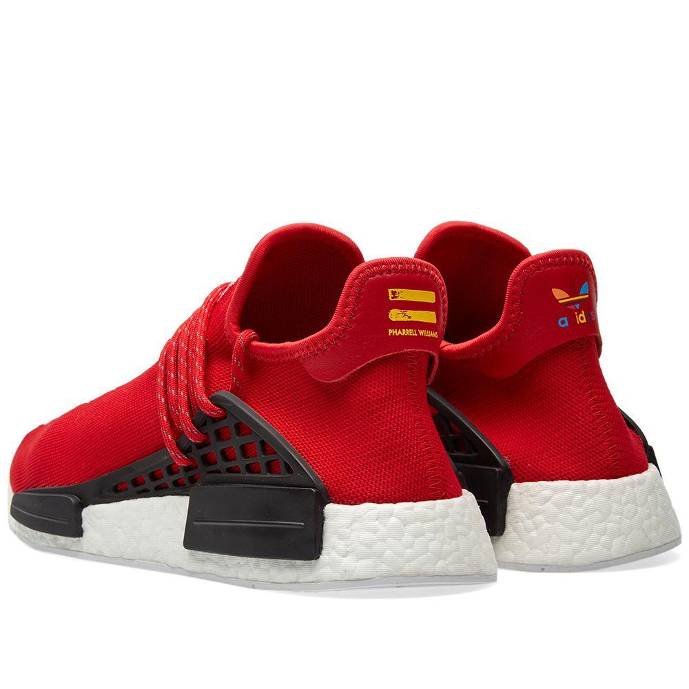 8a8e15898 Adidas x Pharrell Williams Hu Human Race NMD Scarlet   White