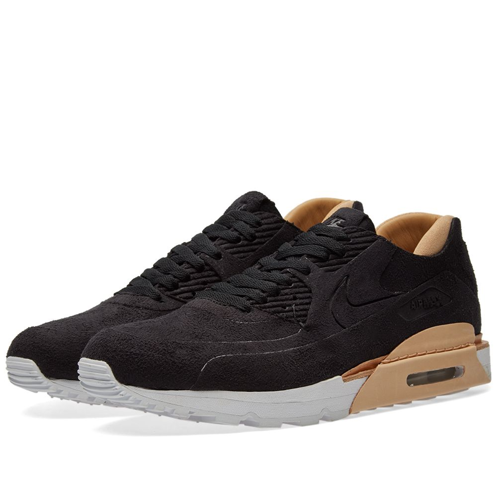 5b40e6525 Nike Air Max 90 Royal Black   Vachetta Tan
