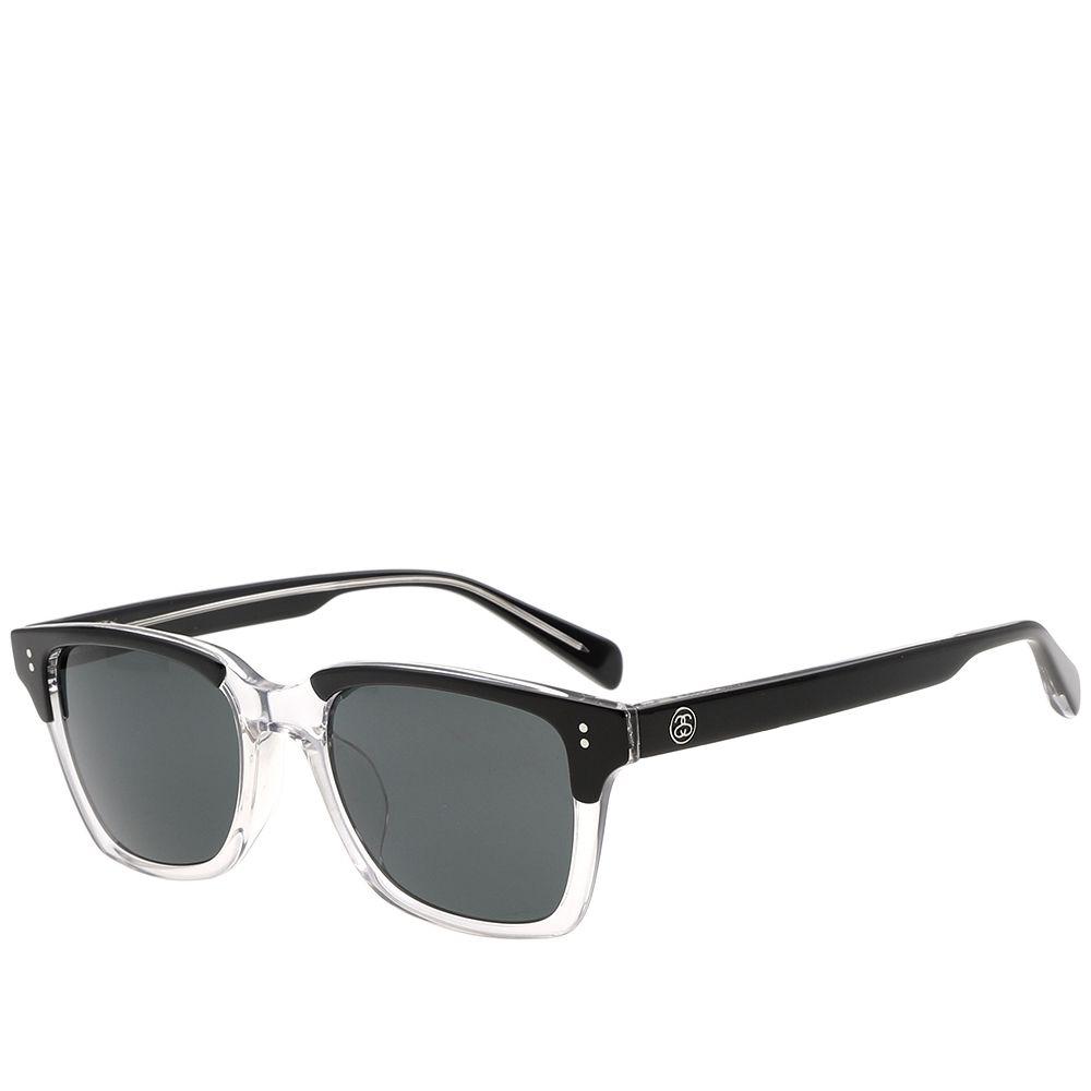 9a47c69264f36 Stussy Angelo Sunglasses Clear