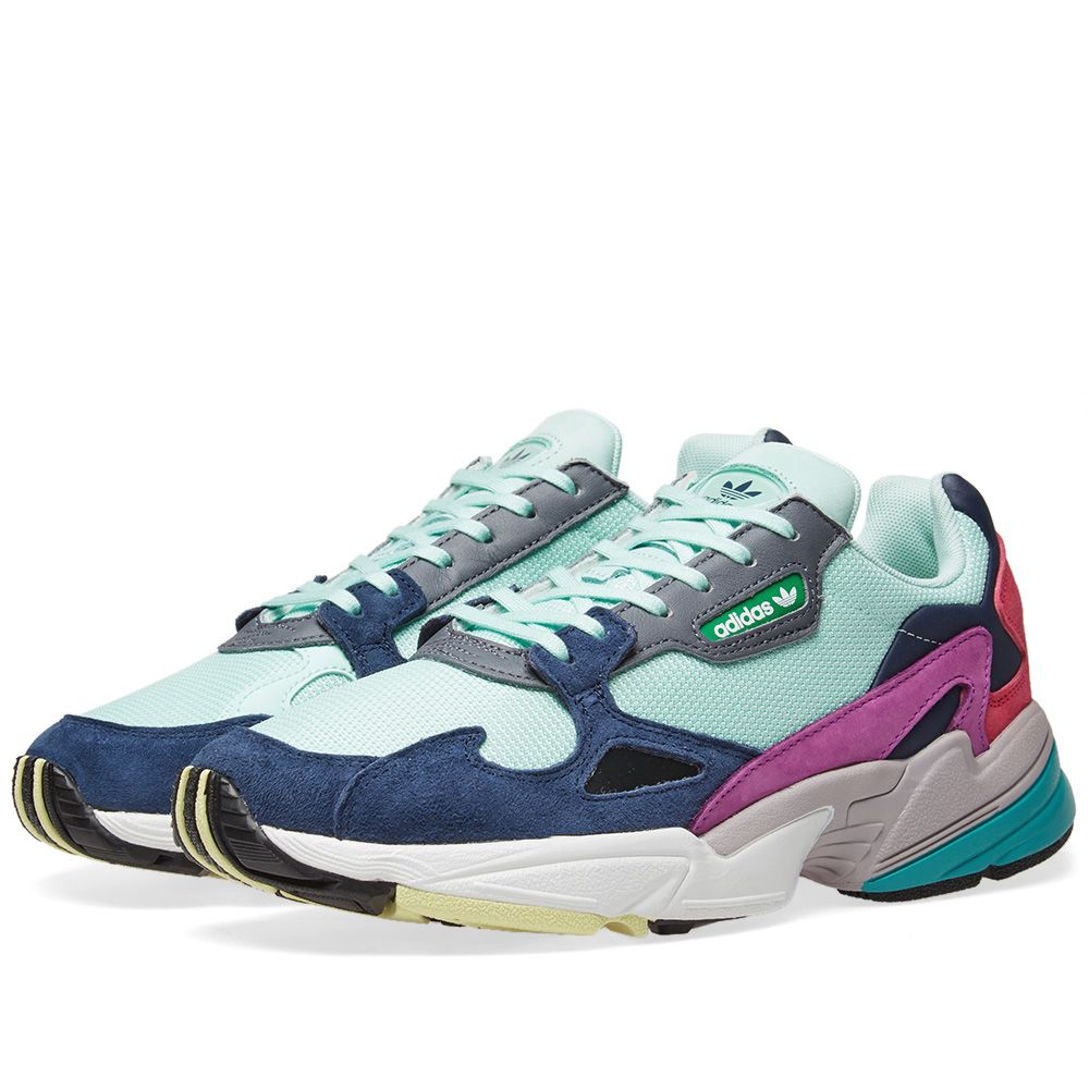 reputable site 32ebe 048d9 adidas falcon womens in clear