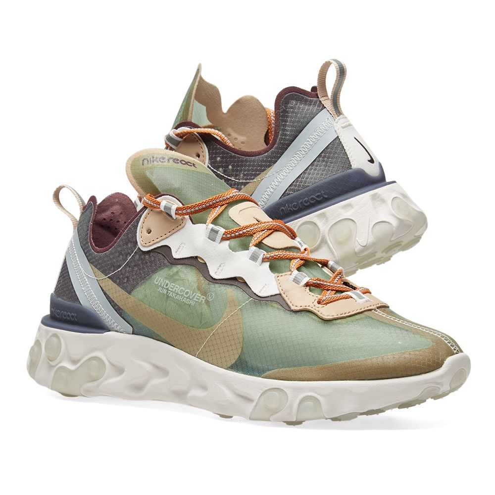 bfee2eee77f2 Nike x Undercover React Element 87 Green Mist   Linen