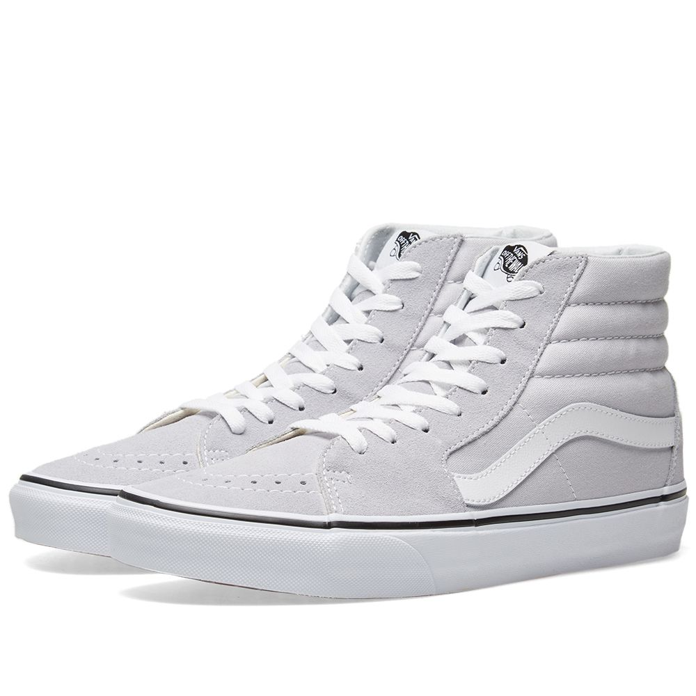f65c8bb08c Vans Sk8-Hi Grey Dawn   True White