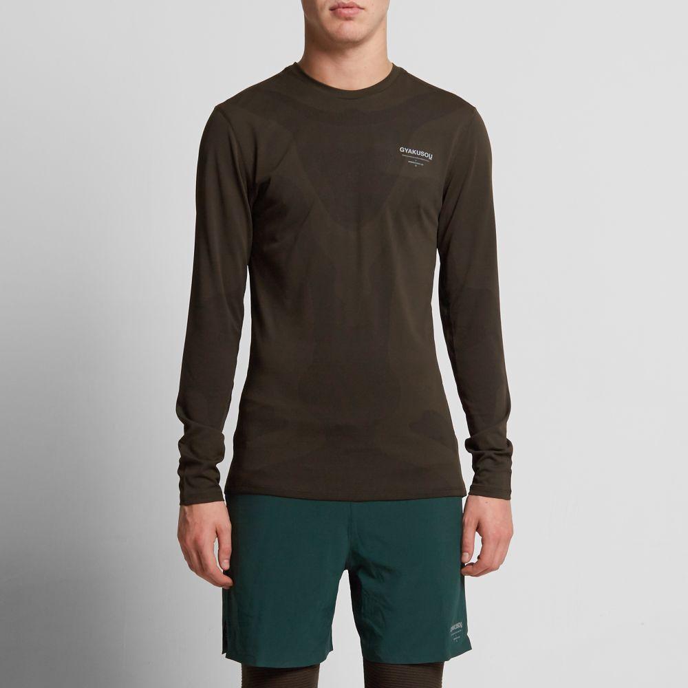 buy online 0f89f a5997 Nike x Undercover Gyakusou Long Sleeve Dri-Fit Sweat Map Top Deep ...