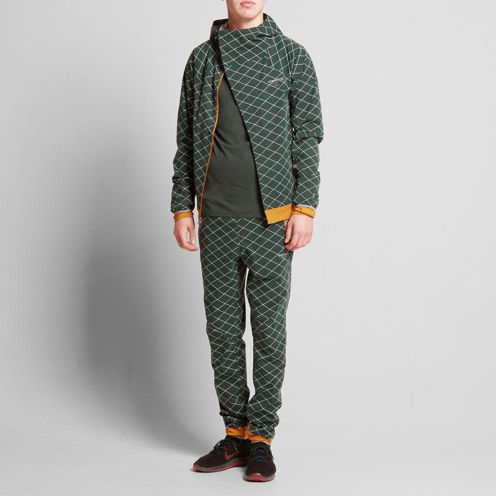 209500d6c3c8 Nike x Undercover Gyakusou Shield Runner Jacket Pro Green   Bronze ...