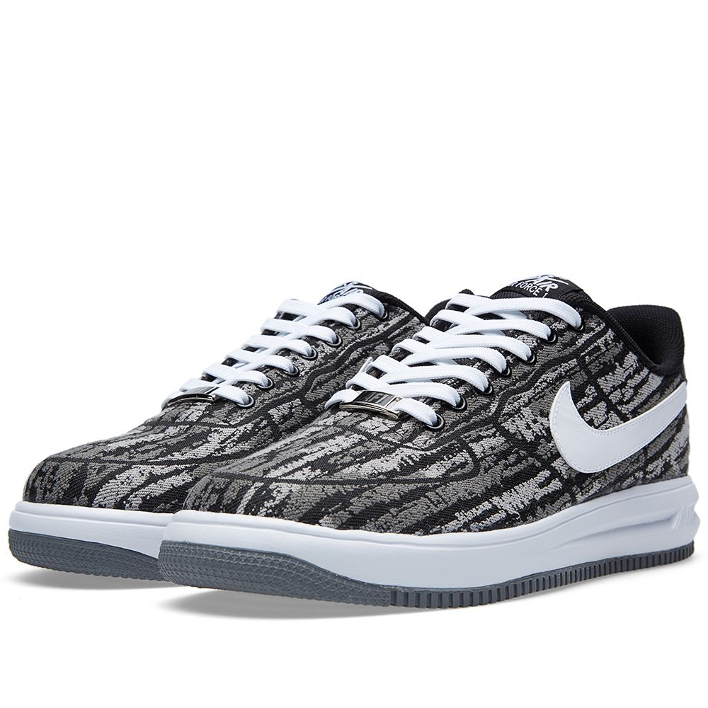 buy popular e8ad7 9c9ab Nike Lunar Force 1 14 Jacquard QS. Black  White. 149 75