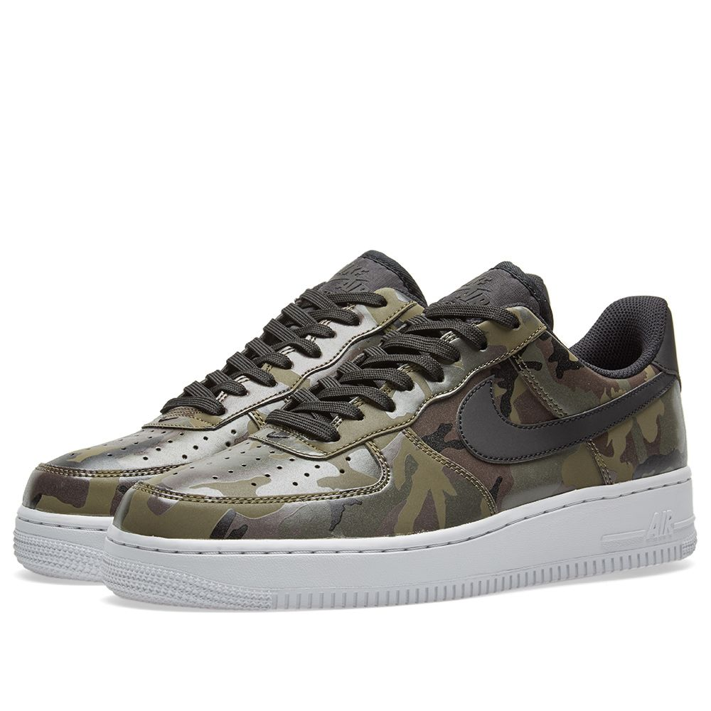 low priced 45072 e7c61 Nike Air Force 1 07 LV8 Camo. Medium Olive, Black  Brown. CA125 CA75.  image