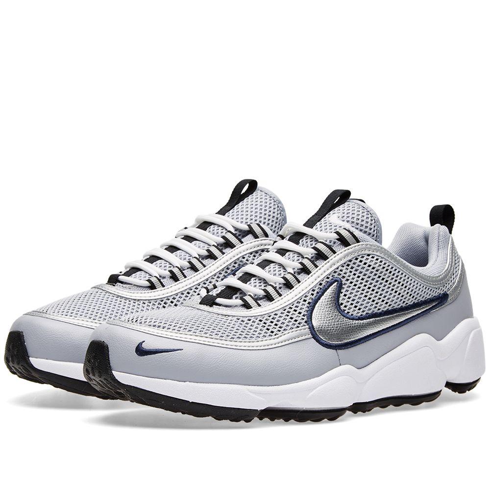 d809a4cd72bc Nike Air Zoom Spiridon W Wolf Grey   Metallic Silver