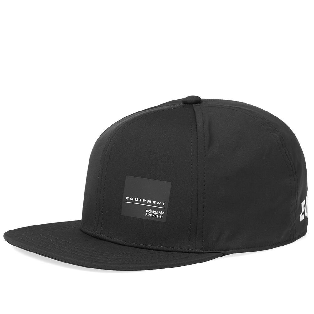 Adidas EQT Snapback Cap Black   White  54513d39919