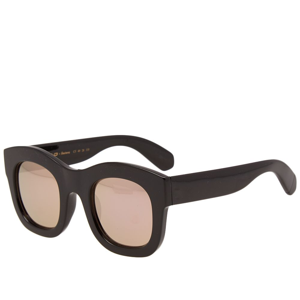 178beeff57e Illesteva x N.E.R.D Oversized Sunglasses Black   Rose