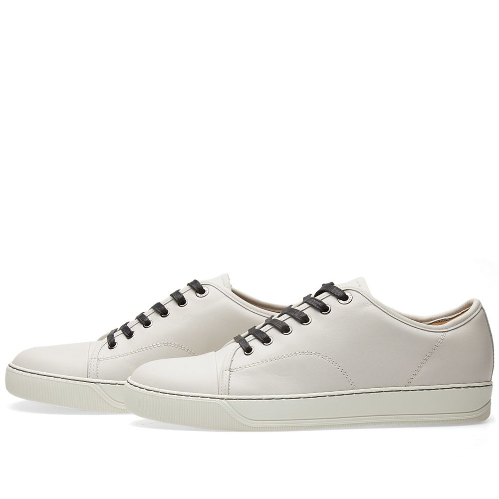 250ebebbfb7 homeLanvin Toe Cap Matte Leather Low Sneaker. image. image. image. image.  image. image. image. image. image