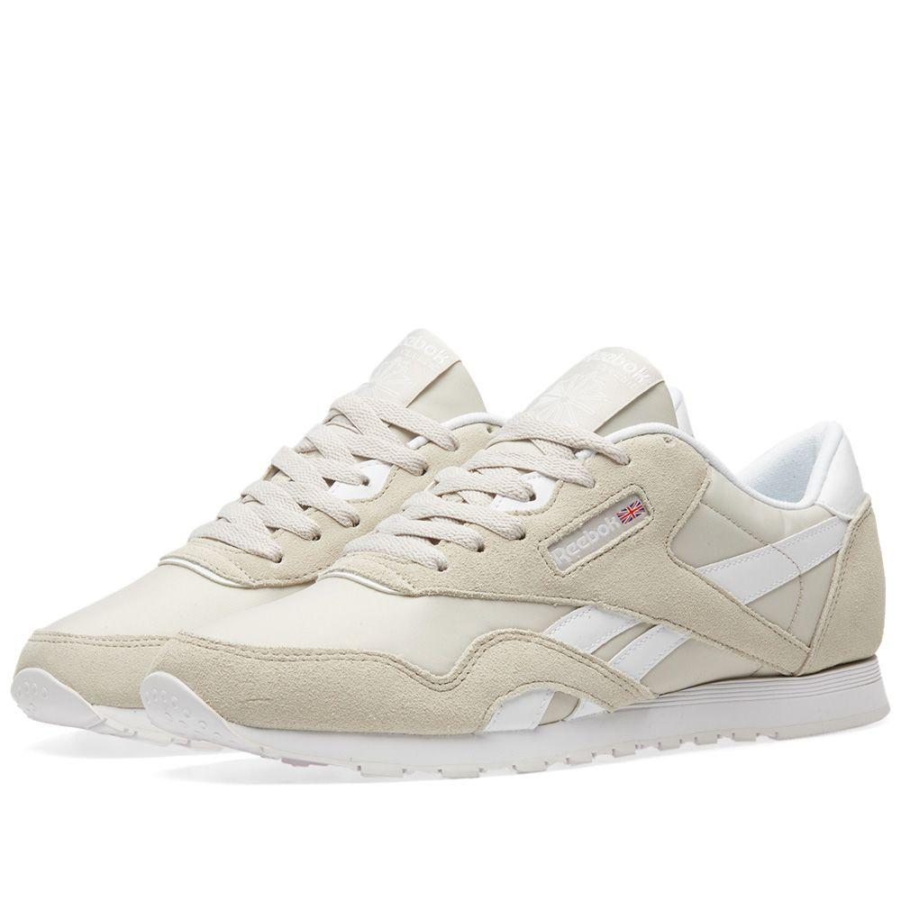 ed0895e83e6b1 Reebok Classic Nylon Neutrals W Sandstorm   White