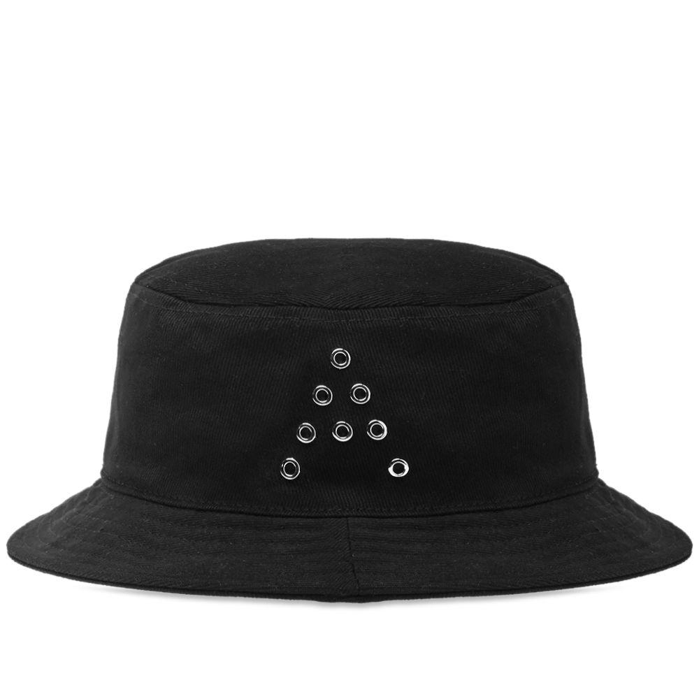 Acne Studios Twill Bucket Hat Black  7364e97d3a2f
