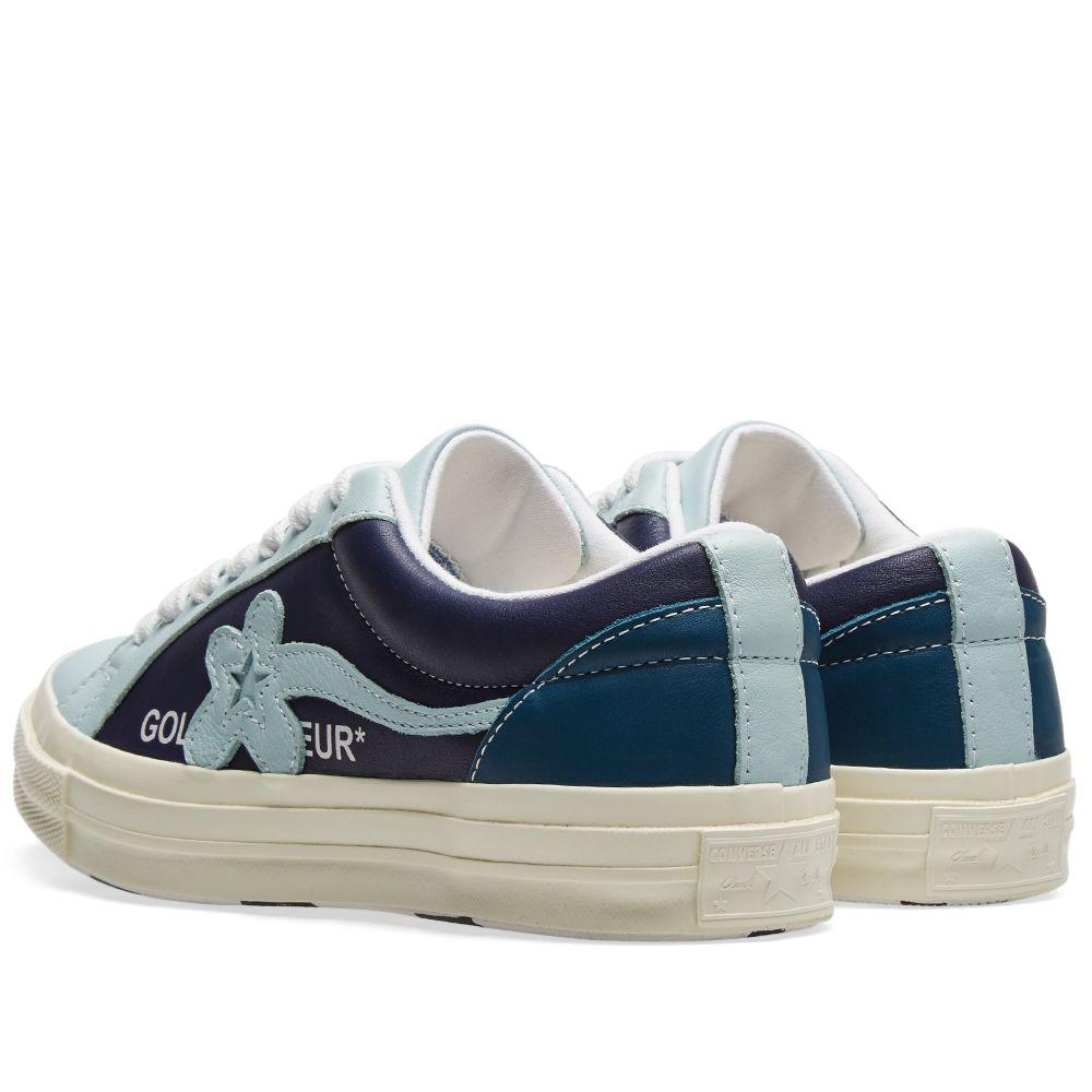 6c813ba93456 Golf Le Fleur x Converse One Star Ox Barely Blue