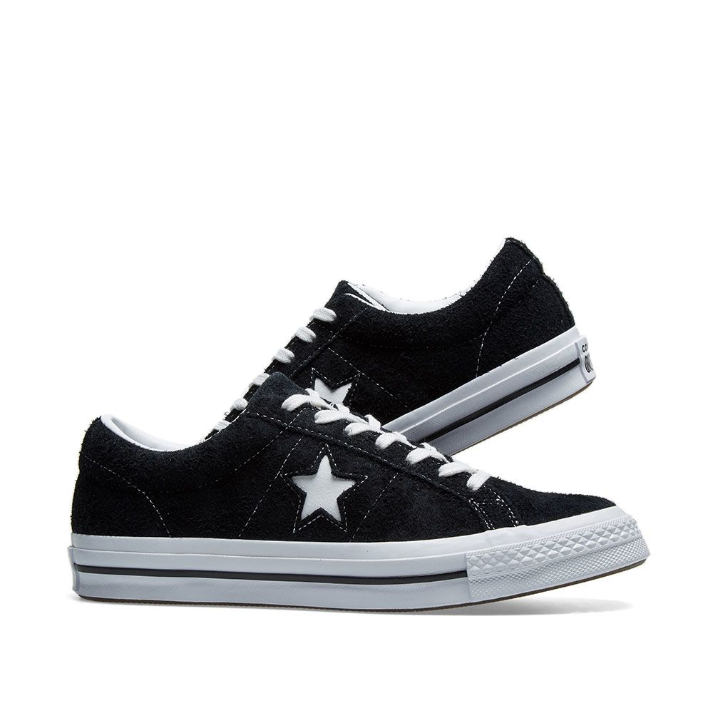 Converse One Star 74 Black   White  95e6cb3576717
