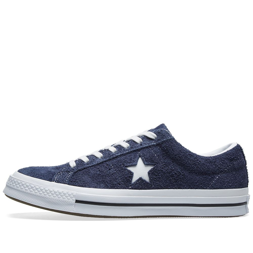 721689f6d7fdf8 Converse One Star 74 Navy   White