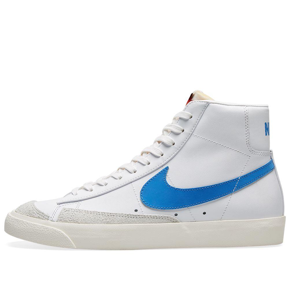 official photos f626a e67b7 Nike Blazer Mid 77 Vintage Pacific Blue, Sail  White  END.