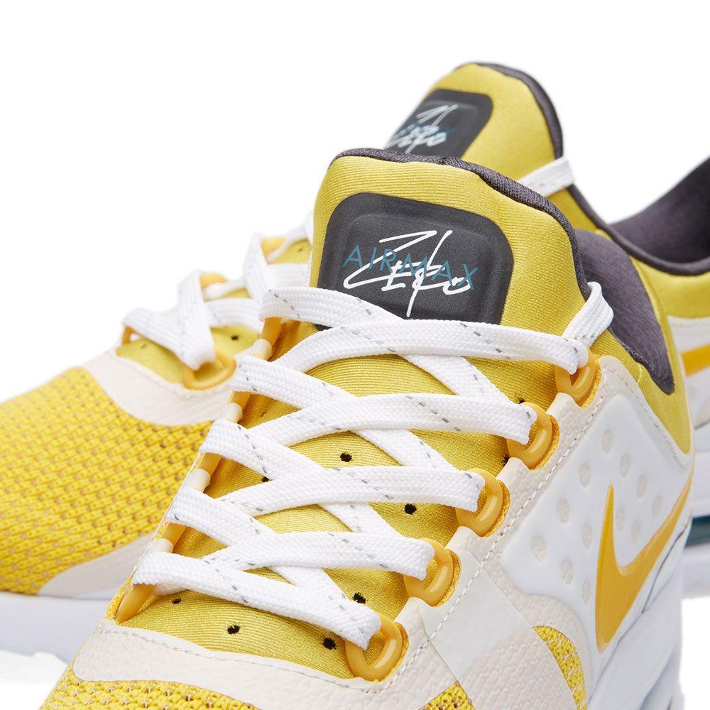296975718127 Nike Air Max Zero QS. White   Vivid Sulfur. £115. image