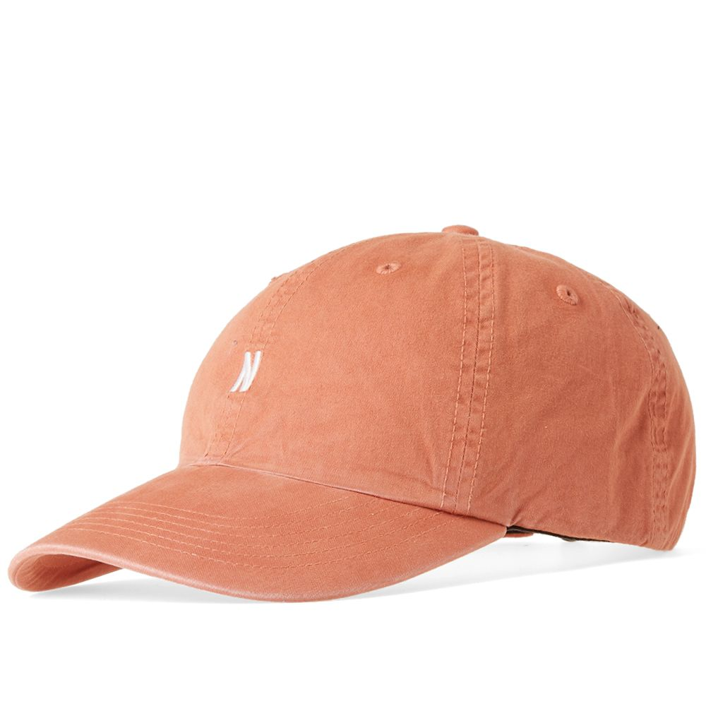 bfbfb1cd166 Norse Projects Light Twill Sports Cap. Fusion Pink. £50. image