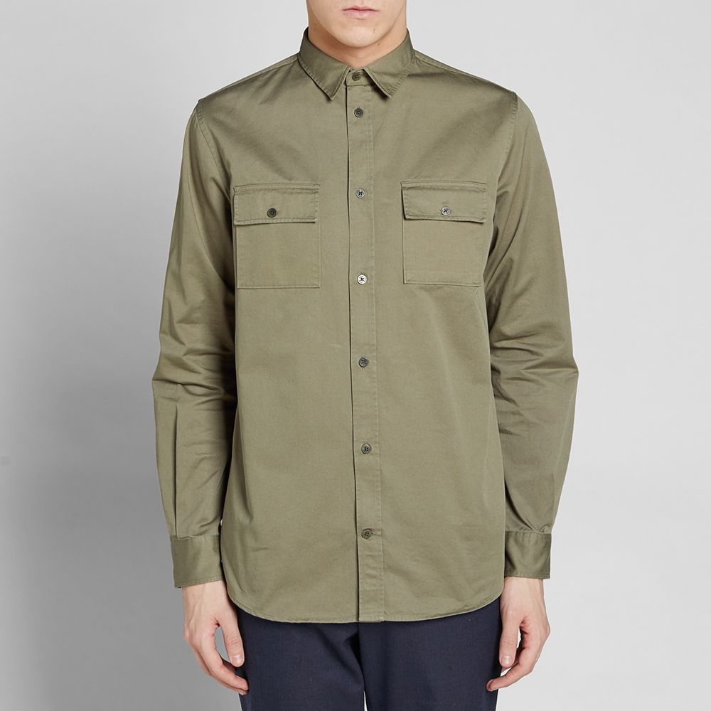 6786455d2b3 Norse Projects Villads Twill Shirt. Dried Olive. ₩188,999 ₩110,599. Plus  Free Shipping. image. image