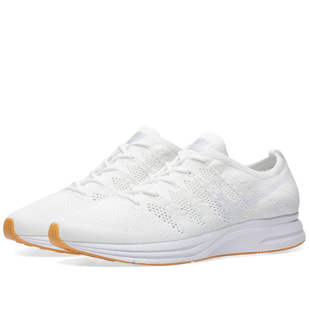 new style 23b74 6a882 Nike Flyknit Trainer White  Gum  END.