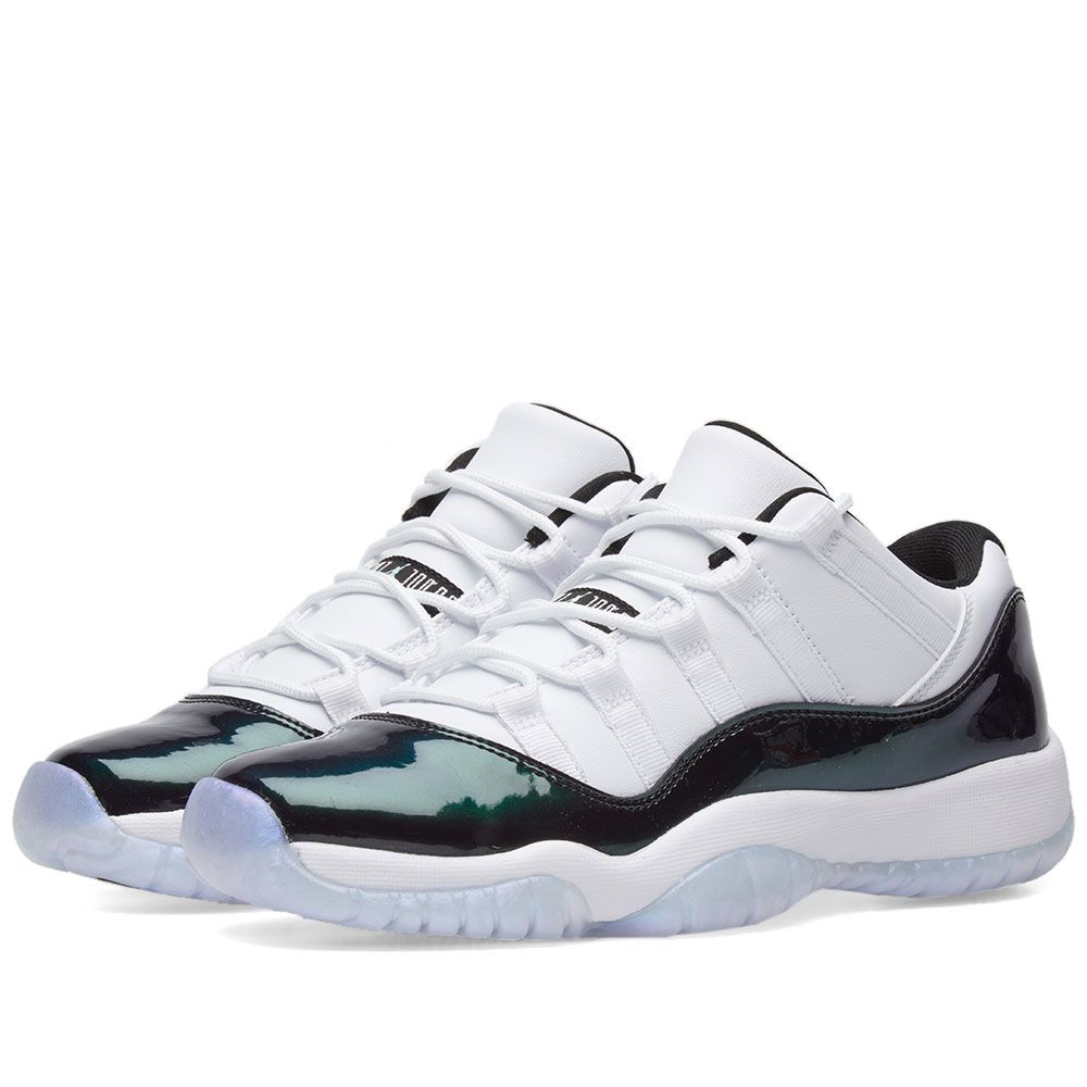 32113d4fdeb Nike Air Jordan 11 Retro Low BG White