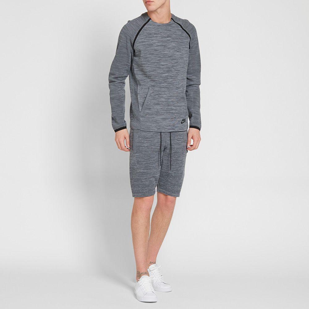 Nike Tech Knit Crew Cool Grey, Dark Grey & Black
