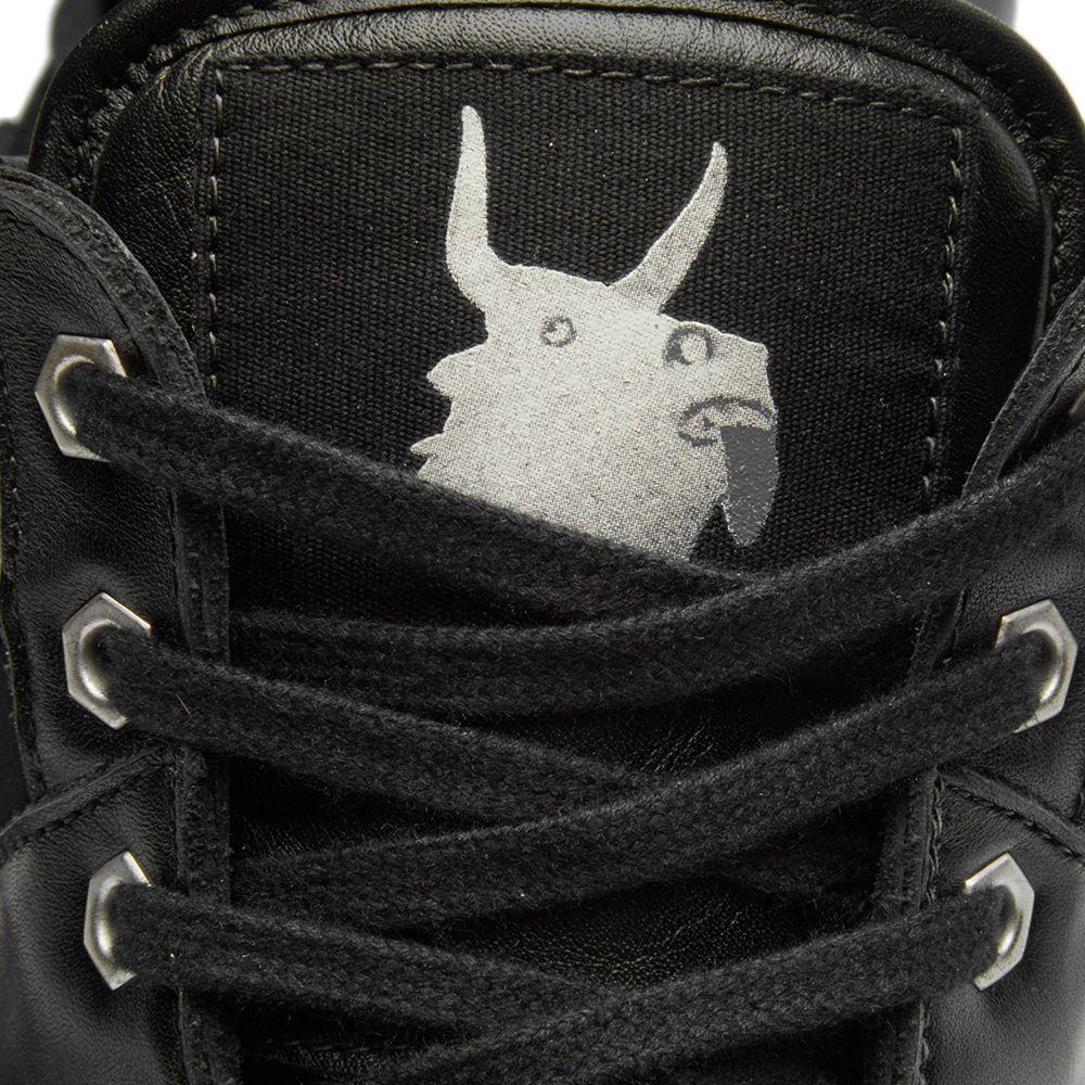 ae2a06906e3d94 Helmut Lang x Travis Scott High Top Sneaker Black