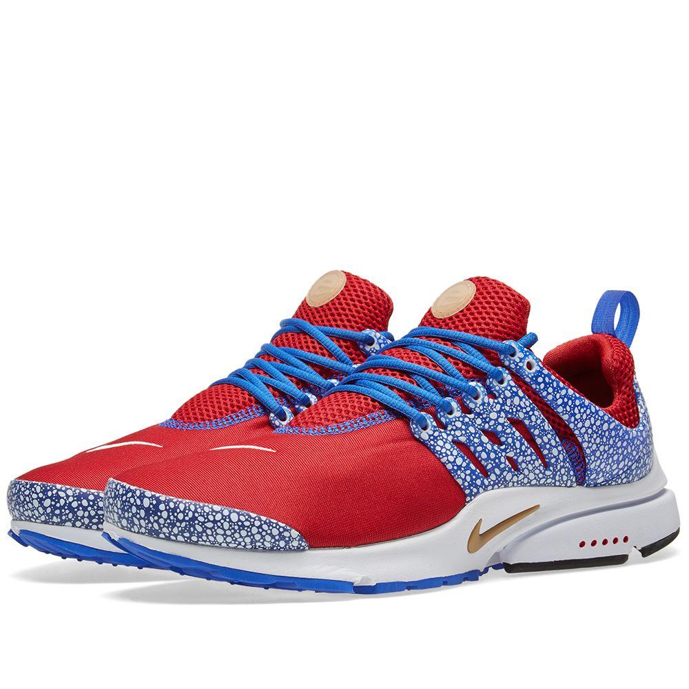 sports shoes ab8d3 d4164 Nike Air Presto QS Gym Red   Racer Blue   END.