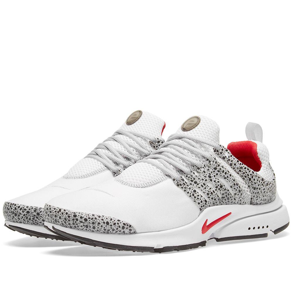 buy popular 9656a c2b10 Nike Air Presto QS White  University Red  END.