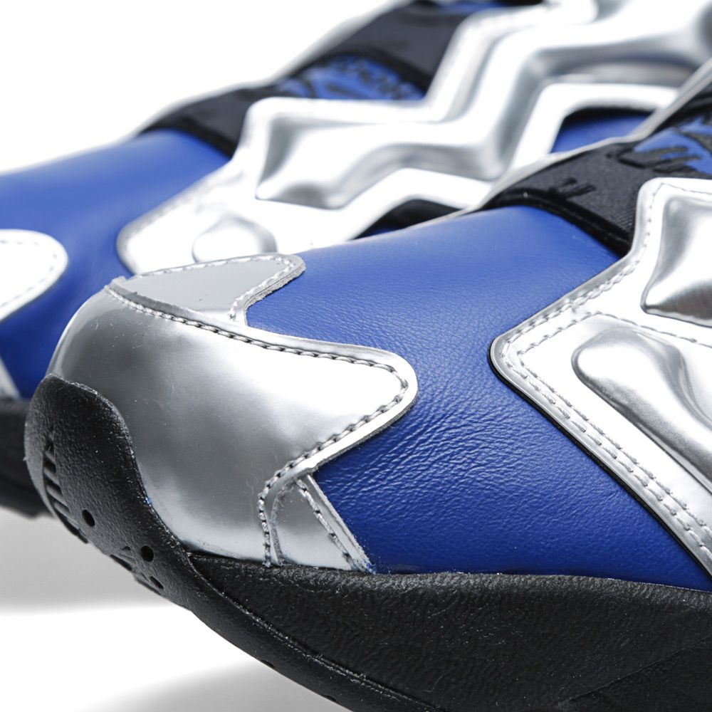 check out 2b0d8 c07ec Reebok x Silly Thing Instapump Fury OG Black, Silver & Team Royal | END.