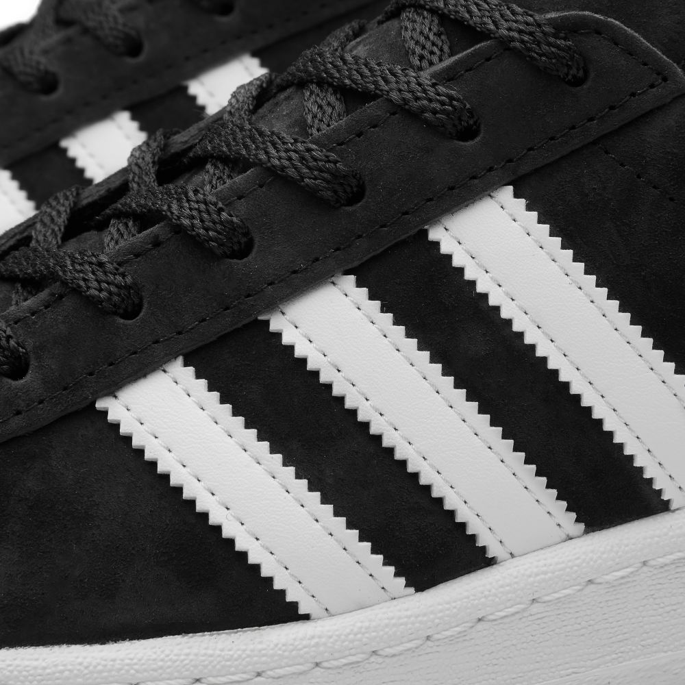 Adidas Campus 80s Vintage Japan. Core Black   White. AU 115. image 352e951e5