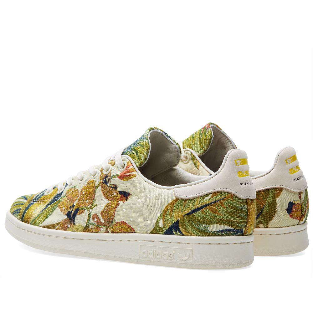 Adidas x Pharrell Jacquard Stan Smith Cream White  039f07b74