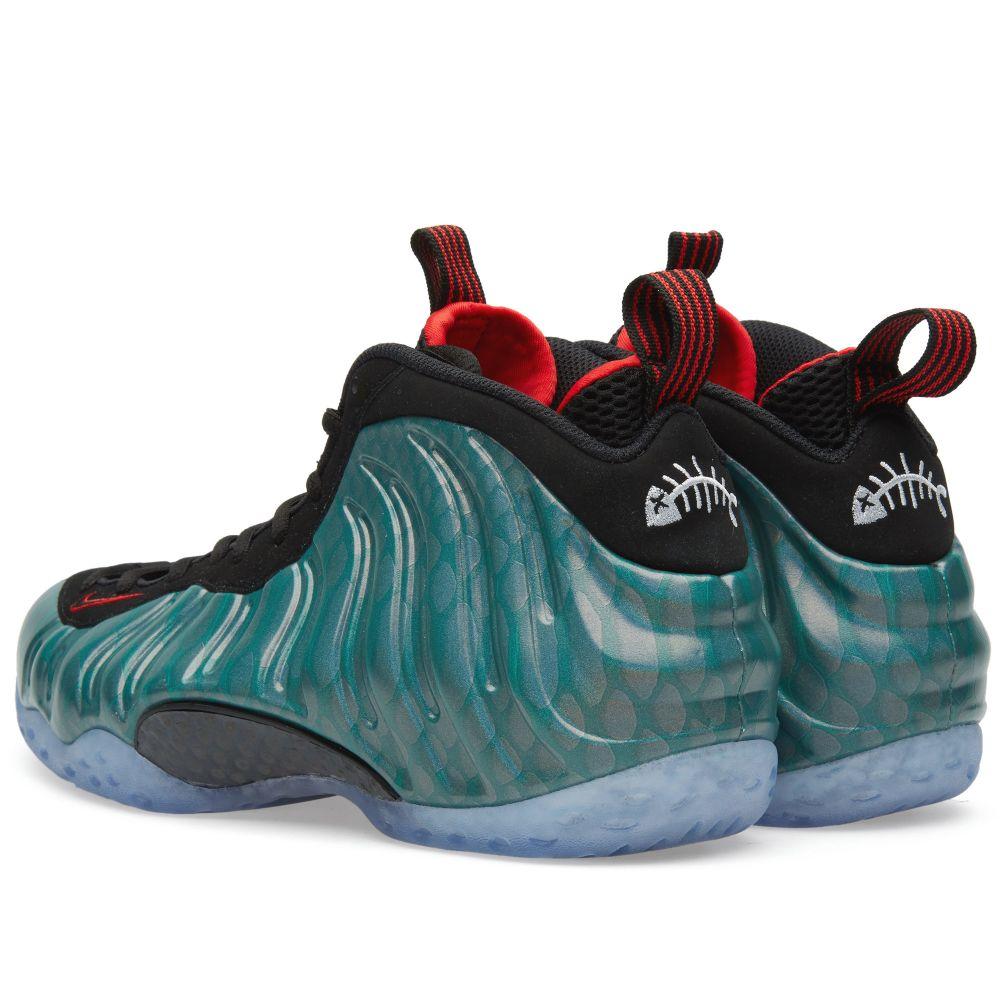 43d83b2c9f3ee Nike Air Foamposite One PRM  Gone Fishing  Dark Emerald   Black