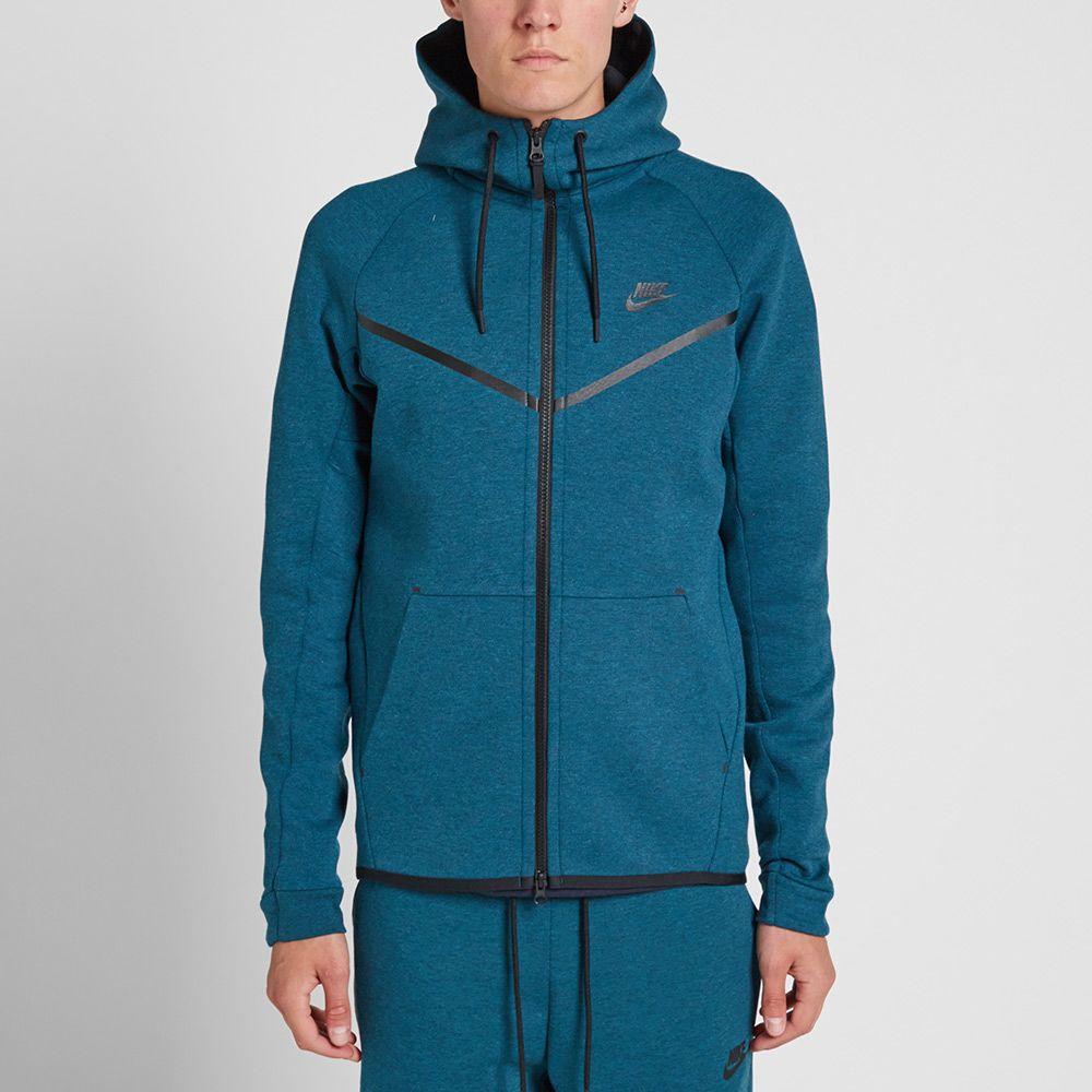 d6290cbc0867 Nike Tech Fleece Windrunner Midnight Turquoise   Black