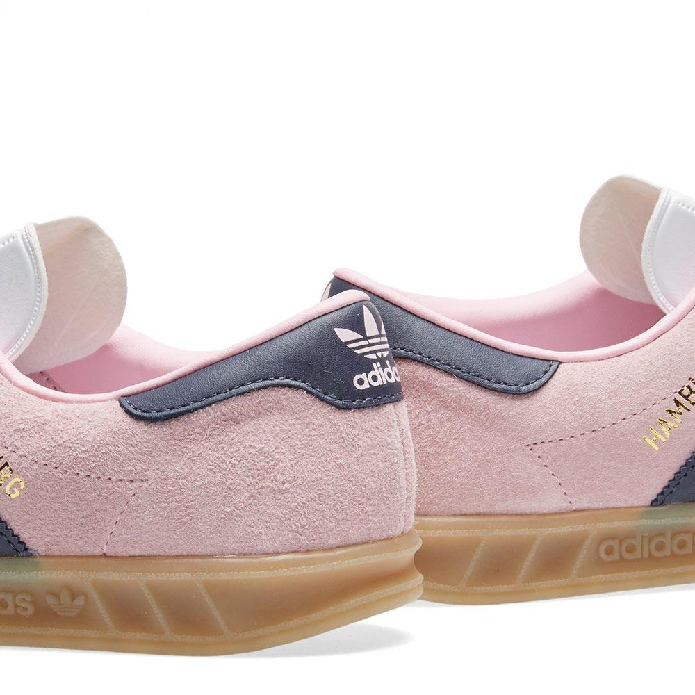 94d51be692fbc Adidas Hamburg W Wonder Pink   Trace Blue
