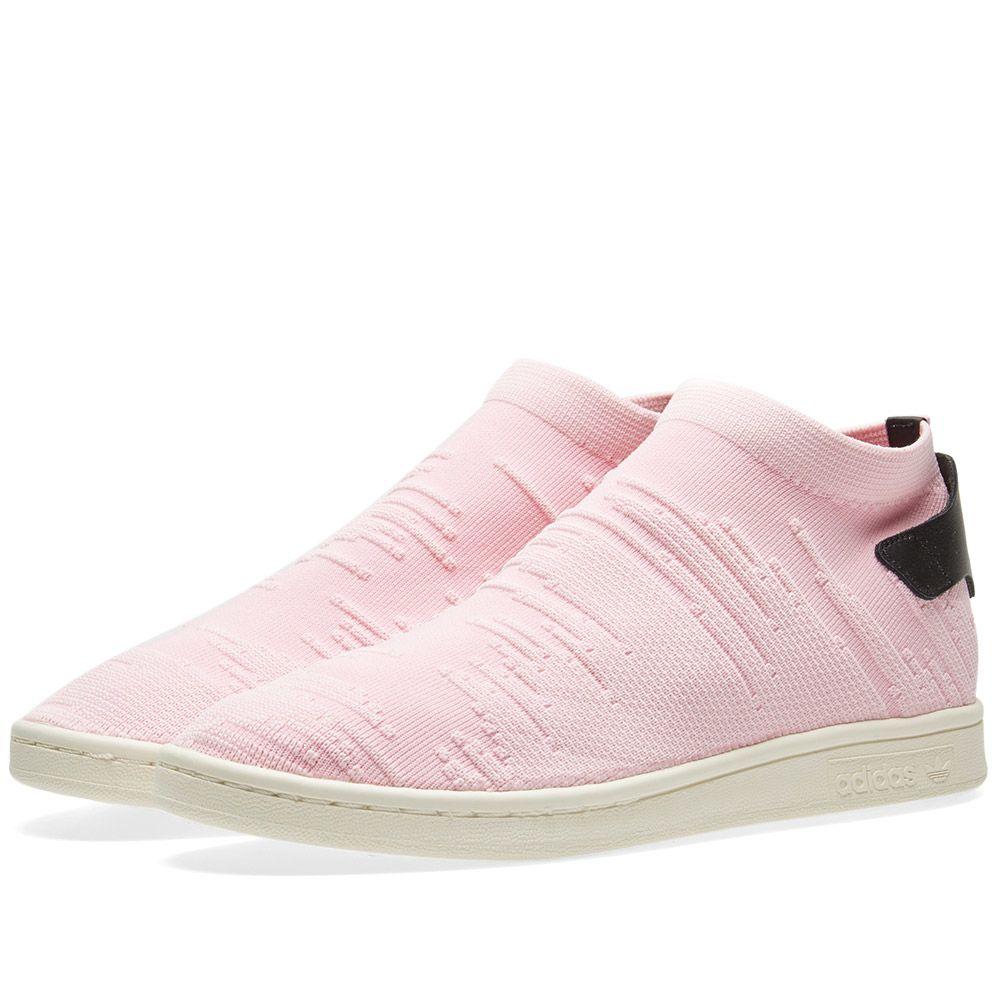 Adidas Stan Smith Sock PK W. Wonder Pink   Core Black. £99 £49 017f8fb7f